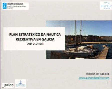 Presentación do Plan estratéxico da náutica recreativa - Presentación do Plan estratéxico da náutica recreativa